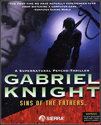 Okładka Gabriel Knight: The Sins of the Fathers (PC)