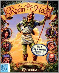Okładka The Legend of Robin Hood: Conquests of the Longbow (PC)