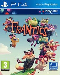 Game Frantics (PS4) cover