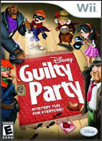 Game Box for Disney's Guilty Party (Wii)