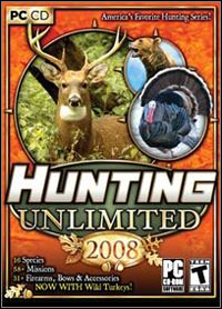 Game Box for Hunting Unlimited 2008 (PC)