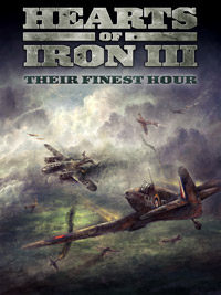 Okładka Hearts of Iron III: Their Finest Hour (PC)
