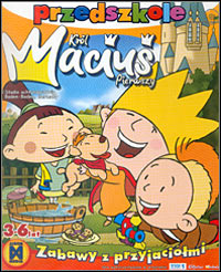 Okładka Little King Macius. Kindergarten, games with friends (PC)
