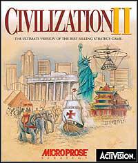 Okładka Sid Meier's Civilization II (PC)