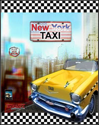 Game Box for New York Taxi (PC)