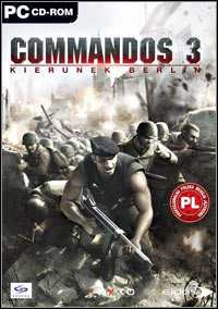 Okładka Commandos 3: Destination Berlin (PC)