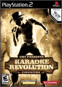 Okładka CMT Presents: Karaoke Revolution Country (PS2)