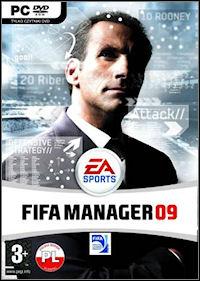 Okładka FIFA Manager 09 (PC)