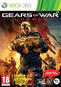 Okładka Gears of War: Judgment (X360)