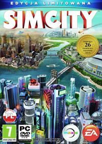 Okładka SimCity (PC)