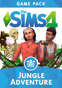 Game Box for The Sims 4: Jungle Adventure (PC)