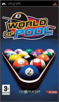 Game Box for World of Pool (PSP)