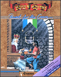 Okładka King's Quest: Quest for the Crown (PC)