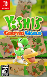 Game Box for Yoshi's Crafted World (Switch)