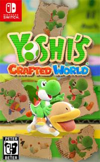 Okładka Yoshi's Crafted World (Switch)