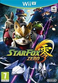 Game Box for Star Fox Zero (WiiU)