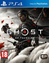 Game Box for Ghost of Tsushima (PS4)