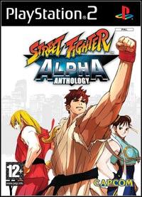 Okładka Street Fighter Alpha Anthology (PS2)