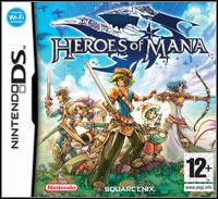 Okładka Heroes of Mana (NDS)