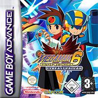 Okładka Mega Man Battle Network 6 Cybeast Falzar / Cybeast Gregar (GBA)