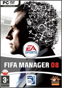 Okładka FIFA Manager 08 (PC)