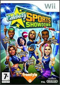 Okładka Celebrity Sports Showdown (Wii)