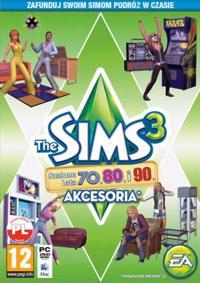 Okładka The Sims 3: 70s, 80s, & 90s Stuff (PC)
