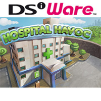Game Box for Hospital Havoc (NDS)
