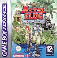 Okładka Metal Slug Advance (GBA)