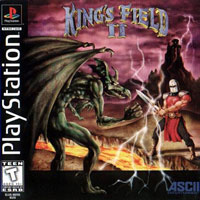 Game Box for King's Field II (PS1)