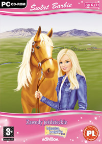 Okładka Barbie Horse Adventures Mystery Ride (PC)