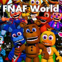 Game FNAF World (PC) cover