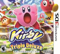 Okładka Kirby: Triple Deluxe (3DS)