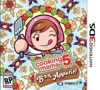 Game Box for Cooking Mama 5: Bon Apetit! (3DS)