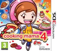 Game Box for Cooking Mama 4: Kitchen Magic (3DS)