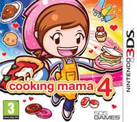 Okładka Cooking Mama 4: Kitchen Magic (3DS)
