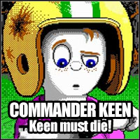 Game Box for Commander Keen - Episode Three: Keen Must Die! (PC)