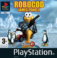 Game Box for James Pond 2: Codename RoboCod (PS1)