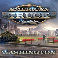 American Truck Simulator: Washington cover