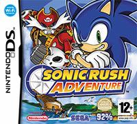 Okładka Sonic Rush Adventure (NDS)