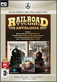 Okładka Railroad Tycoon: Antologia (PC)