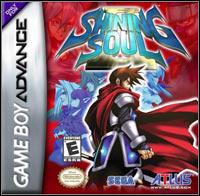 Game Box for Shining Soul II (GBA)