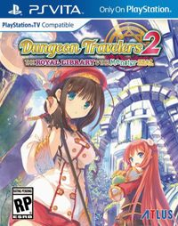 Okładka Dungeon Travelers 2: The Royal Library & The Monster Seal (PSV)