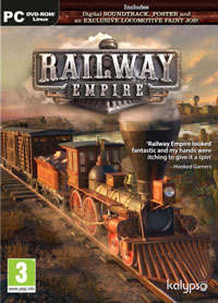 Game Railway Empire (PC) cover