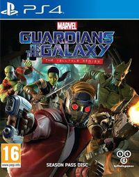 Game Marvel's Guardians of the Galaxy: The Telltale Series (XONE) cover