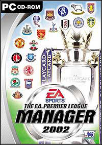 Game Box for The F.A. Premier League Manager 2002 (PC)