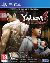 Game Yakuza 6: The Song of Life (PS4) cover
