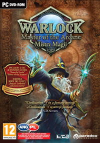 Okładka Warlock: Master of the Arcane (PC)