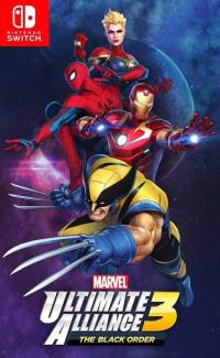 Game Box for Marvel Ultimate Alliance 3: The Black Order (Switch)