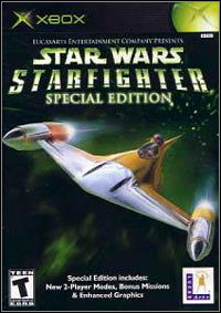 Okładka Star Wars Starfighter: Special Edition (XBOX)